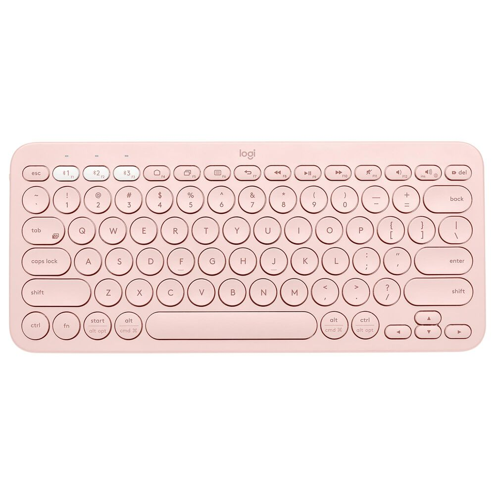 Logitech K380 Multi-Device Bluetooth Keyboard in Rose, , large