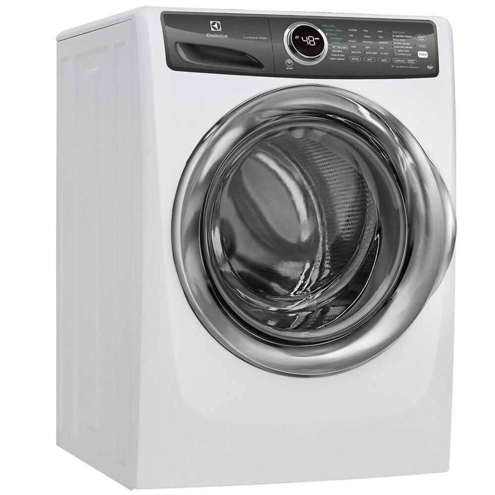 Electrolux  8.0. Cu. Ft. Front Load Perfect Steam Gas Dryer with PredictiveDry and Instant Refresh in White, , large