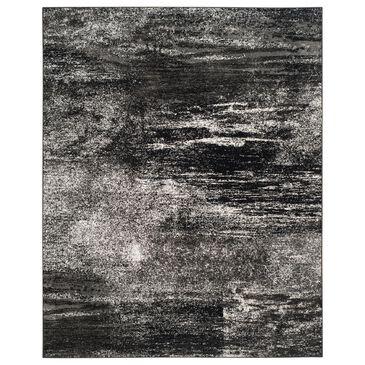 "Safavieh Adirondack ADR112A 10"" x 14"" Silver and Black Area Rug, , large"