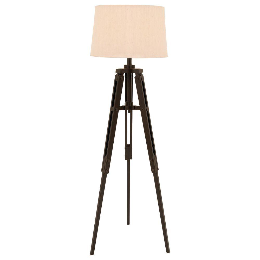 Maple and Jade Floor Lamp in Brown, , large