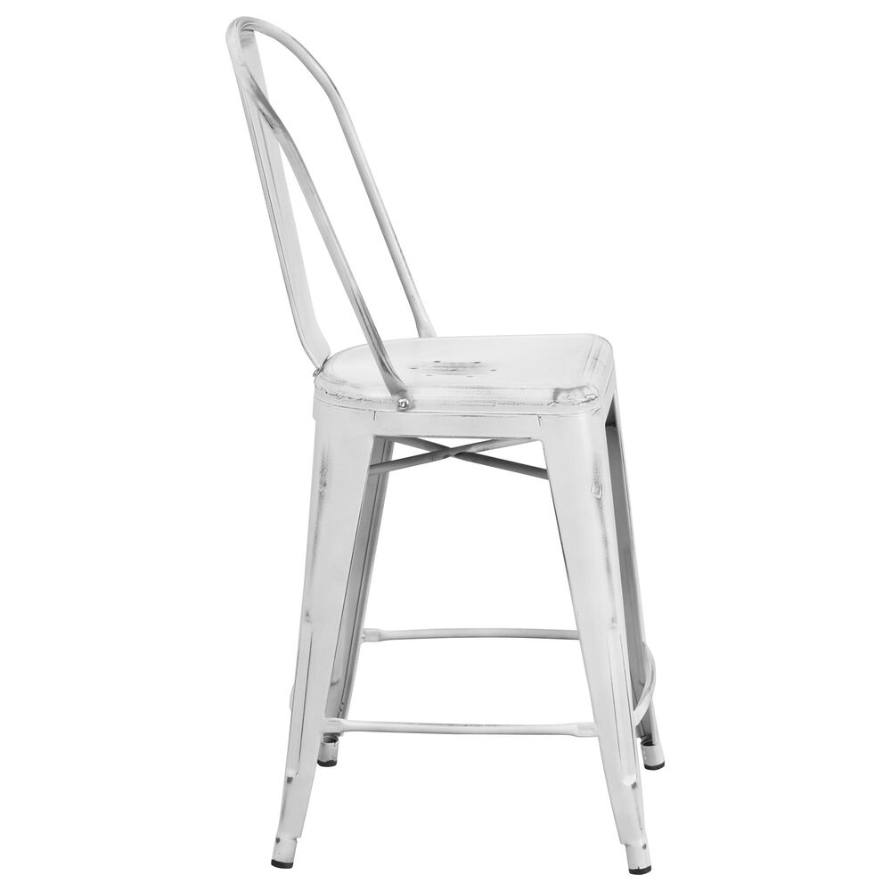 """Flash Furniture 24"""" Counter Stool in White, , large"""