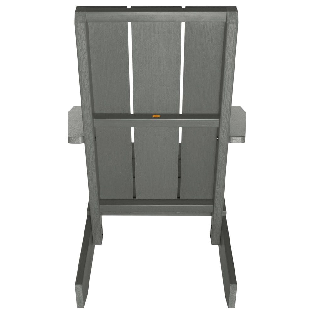 Highwood USA Italica Modern Adirondack Chair in Coastal Teak, , large