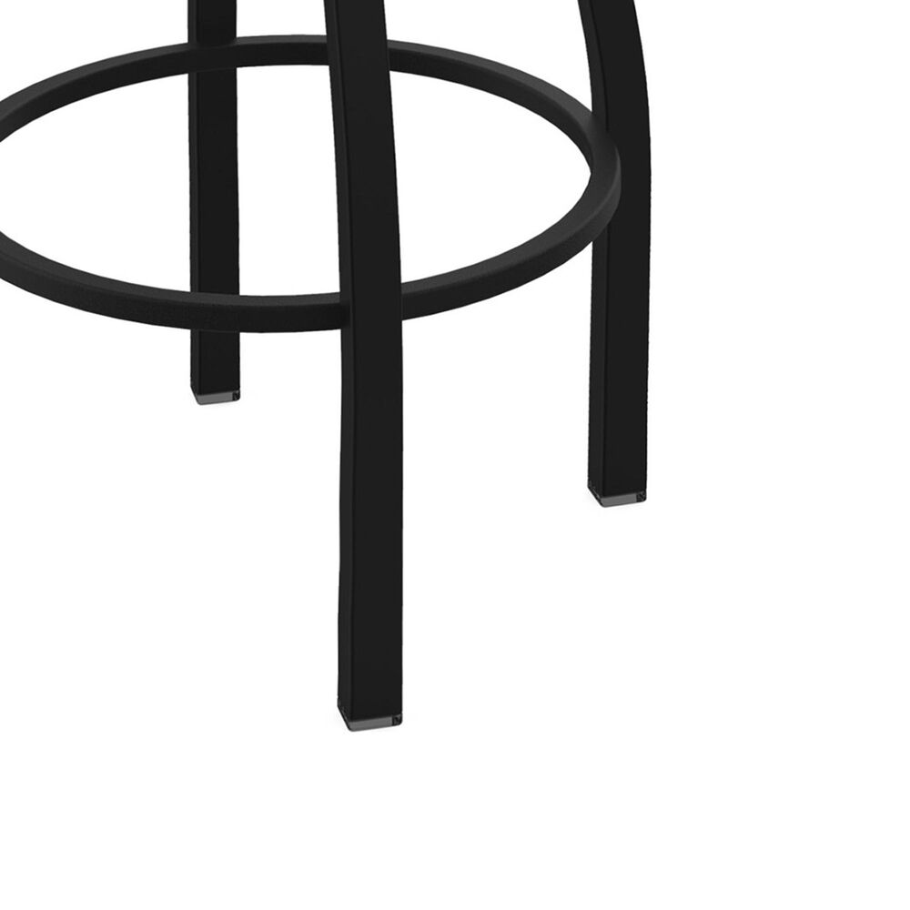 """Holland Bar Stool 411 Jackie 25"""" Low Back Swivel Counter Stool with Black Wrinkle and Graph Chalice Seat, , large"""