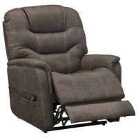 Signature Design by Ashley Ballister Power Lift Recliner in Espresso