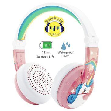 BuddyPhones Wave Unicorn Headphones in Pink, , large