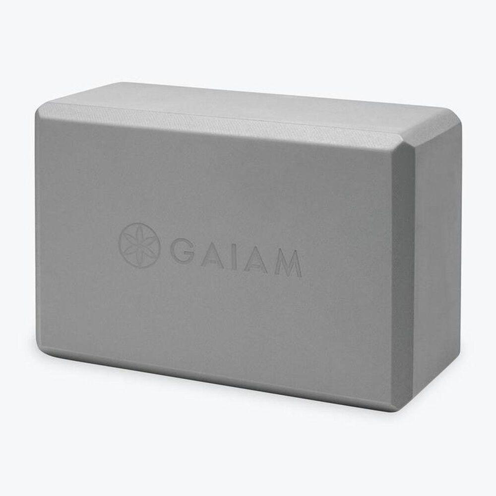 Gaiam Yoga Essentials Block, Gray, large