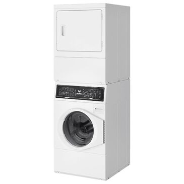Speed Queen 3.5 Cu. Ft. Front Load Washer and 7 Cu. Ft. Electric Dryer Laundry Pair in White, , large
