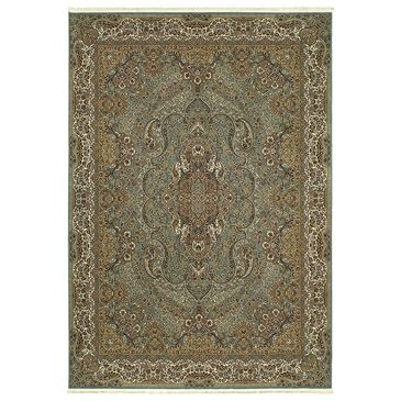 "Oriental Weavers Masterpiece 502L 2'3"" x 10' Blue Runner, , large"