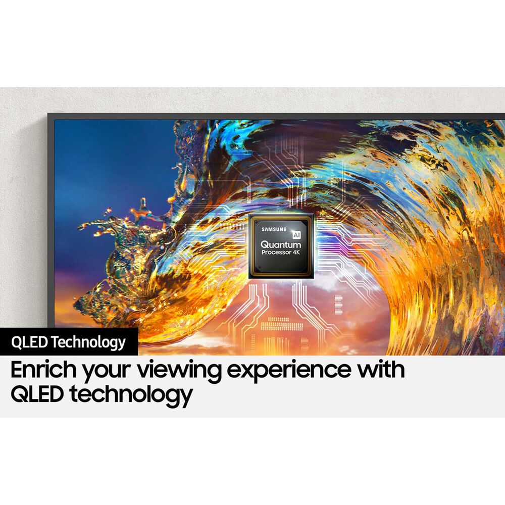 """Samsung 75"""" LS03 Class The Frame (2021) 4K Smart TV QLED HDTV with HDR, , large"""