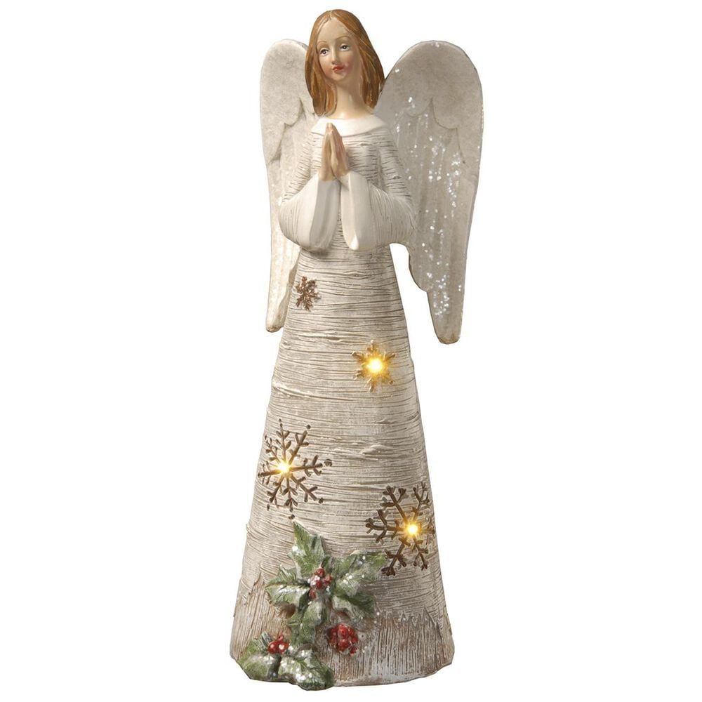 "National Tree 11.6"" Lighted Angel, , large"