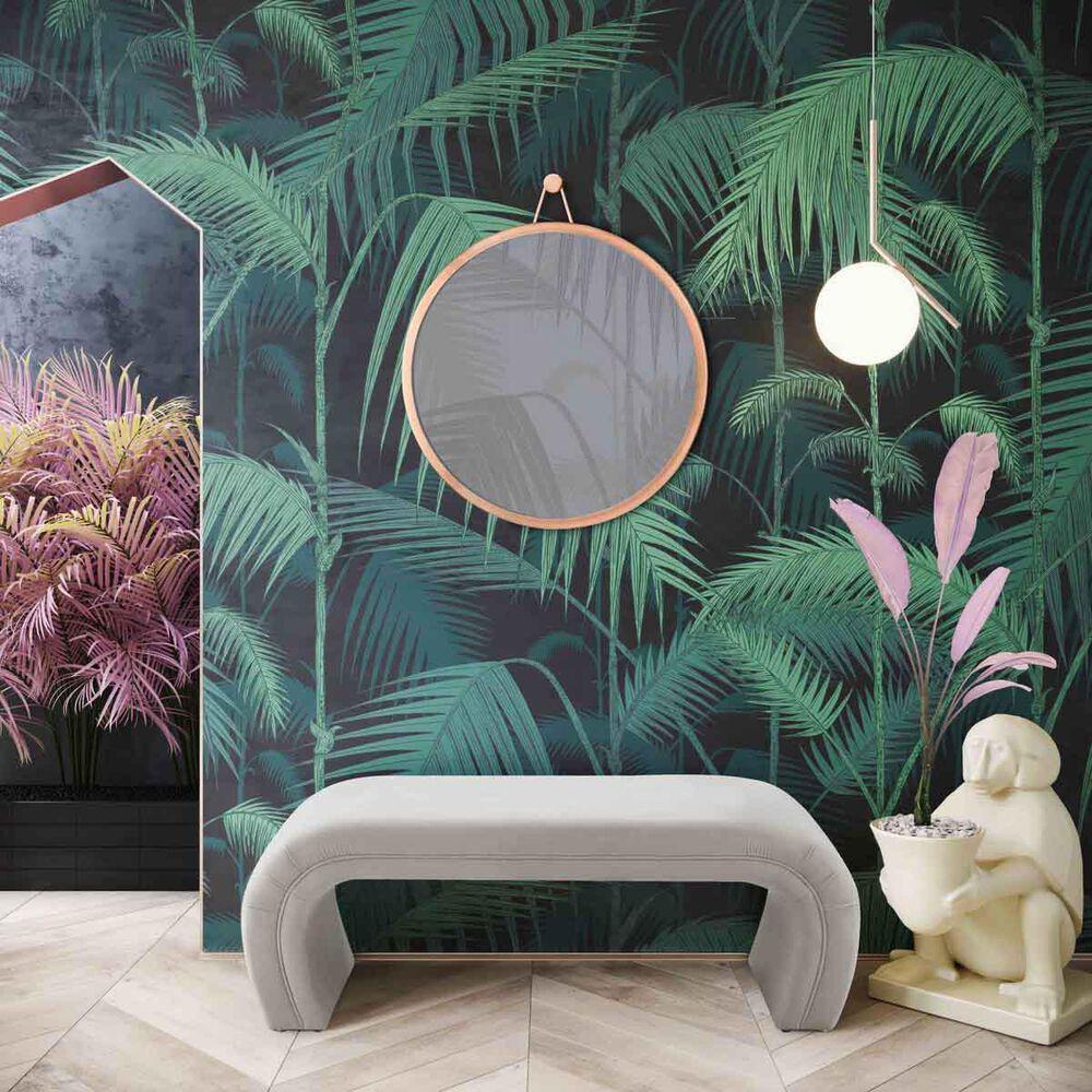 Tov Furniture Kenya Upholstered Bench in Light Grey, , large