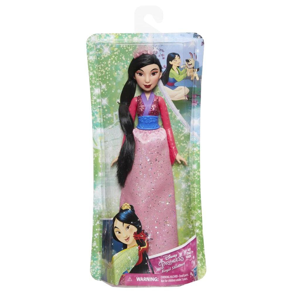 Disney Princess Royal Shimmer Mulan Fashion Doll, , large