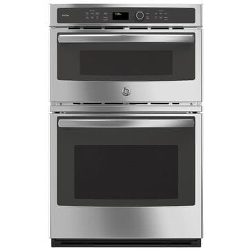 """GE Profile 27"""" Built-In Combination Convection Microwave and Convection Wall Oven in Stainless Steel, , large"""