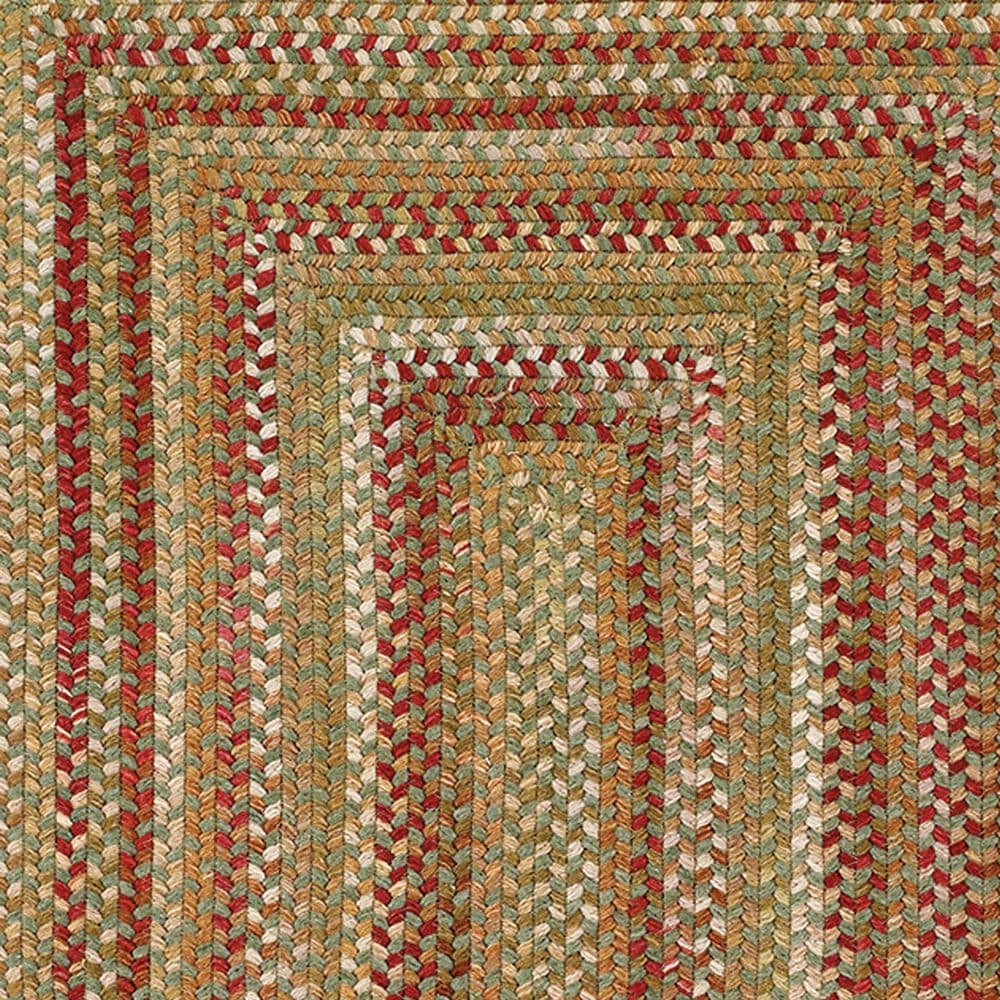 Capel Homecoming 0048-200 7' x 9' Evergreen Area Rug, , large