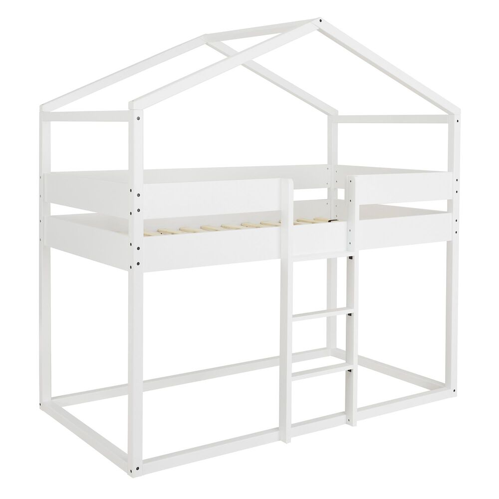 Signature Design by Ashley Flannibrook Twin Loft Bed in White, , large