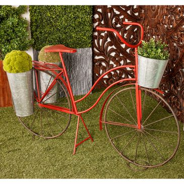 """Maple and Jade 38"""" x 56"""" Plant Stand in Red, , large"""
