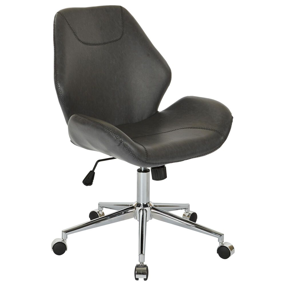 OSP Home Chatsworth Office Chair in Black, , large