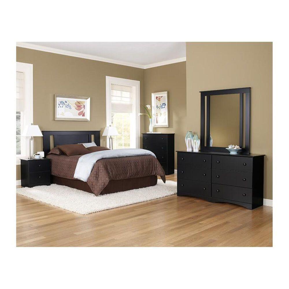 "Lemoore 5000 Series 59"" 6 Drawer Dresser in Solid Black, , large"