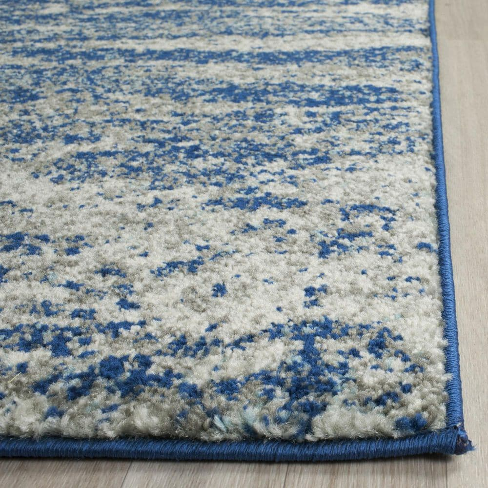 Safavieh Evoke EVK272A 10' x 14' Navy and Ivory Area Rug, , large