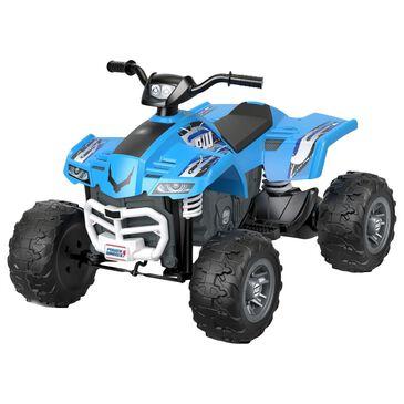 Power Wheels Racing ATV in Blue, , large