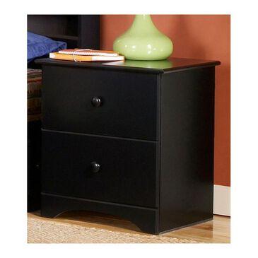 Lemoore 5000 Series 2 Drawer Nightstand in Solid Black, , large