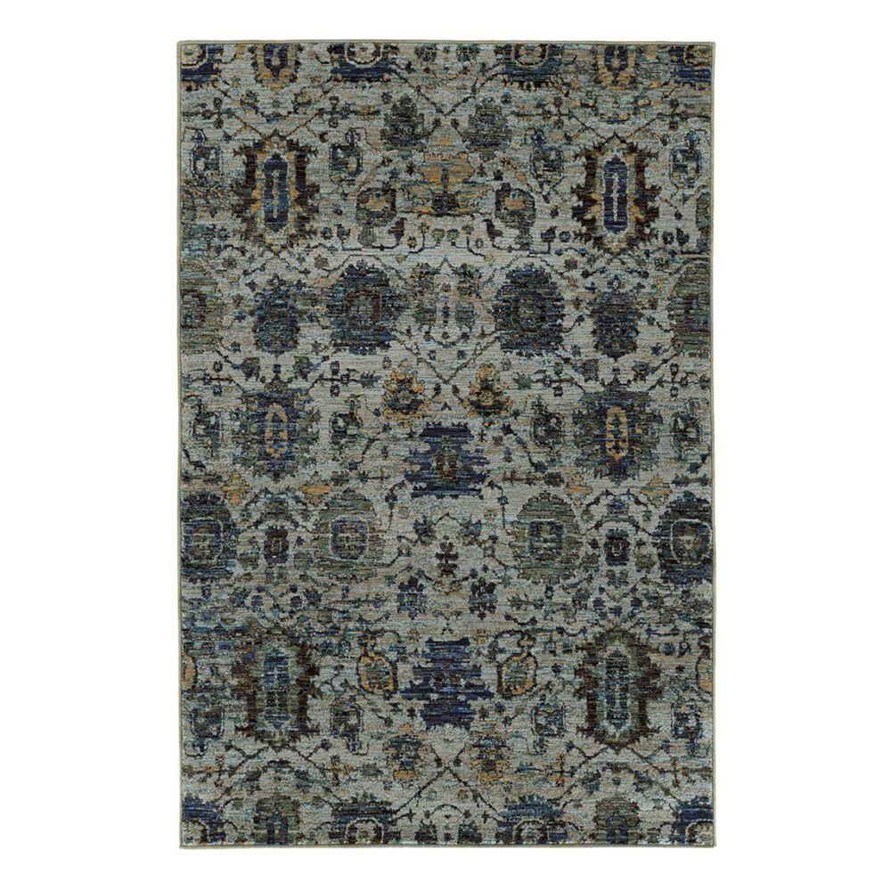 "Oriental Weavers Andorra 7120A 1'10"" x 3'2"" Blue Scatter Rug, , large"
