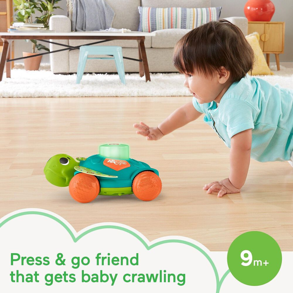 Linkimals Sit-to-Crawl Sea Turtle Musical Activity Toy, , large