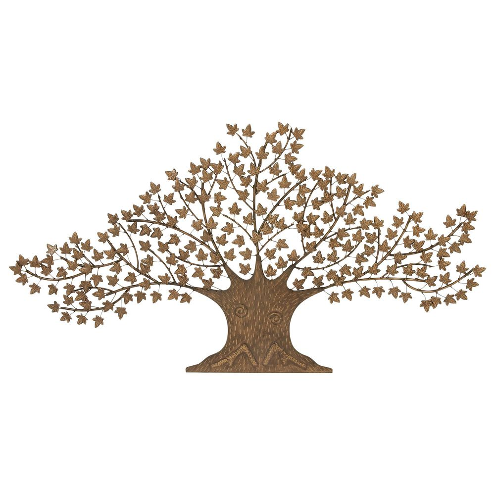 """Maple and Jade 41"""" x 73"""" Tree Wall Decor in Brown, , large"""