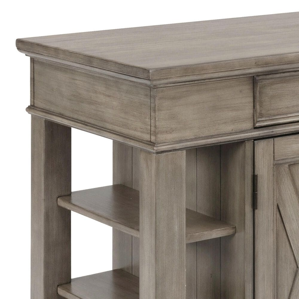 Home Styles Mountain Lodge Kitchen Island in Gray, , large
