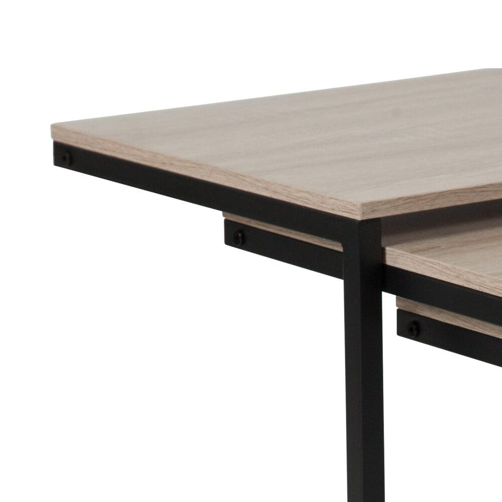Flash Furniture Midtown Nesting Tables in Brown, , large