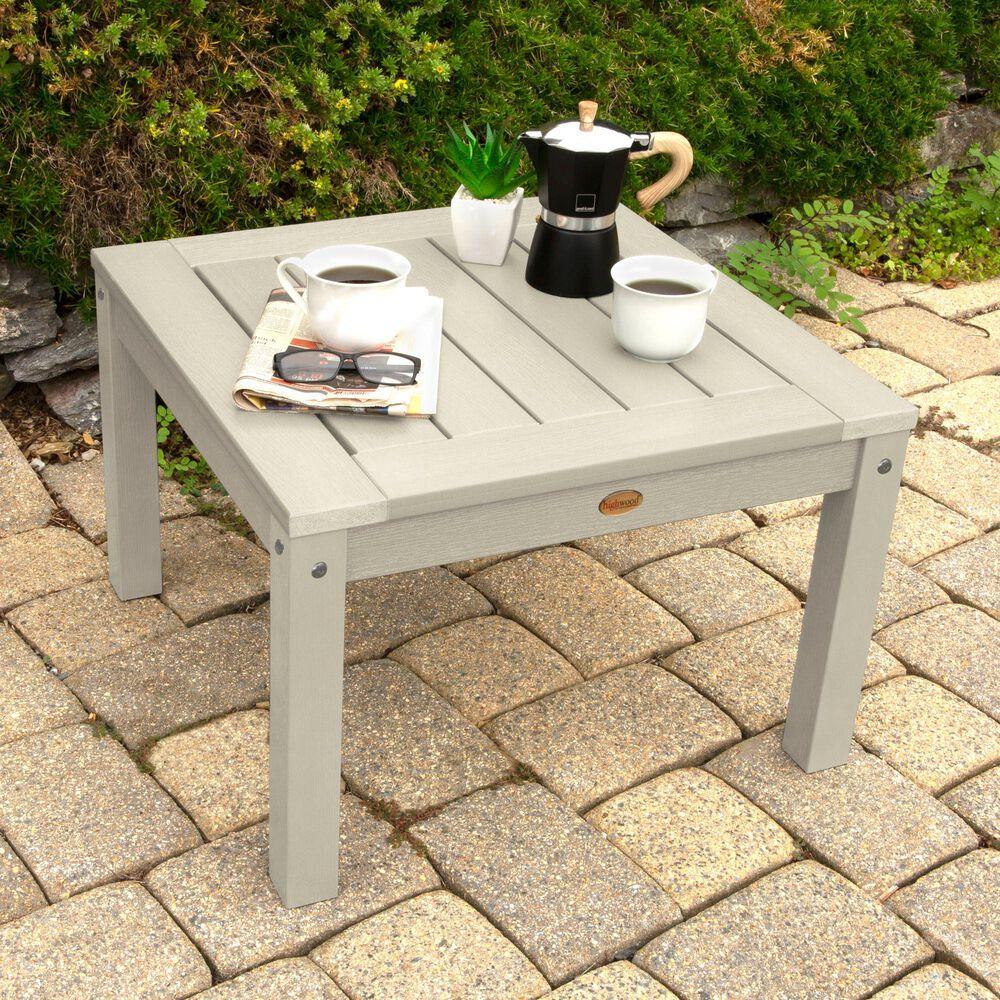 Highwood USA Adirondack Side Table in Whitewash, , large