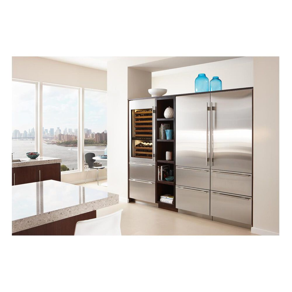 """Sub Zero 30"""" Integrated Over-and-Under Freezer with Ice Maker (Panel Required), , large"""