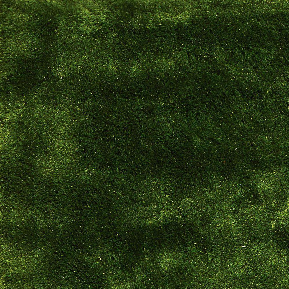 Nourison Glimmer Shag GLI01 5' x 7' Apple Green Area Rug , , large