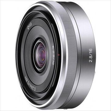 Sony E-Mount SEL16F28 16mm f/2.8 Wide-Angle Alpha E-Mount Lens, , large