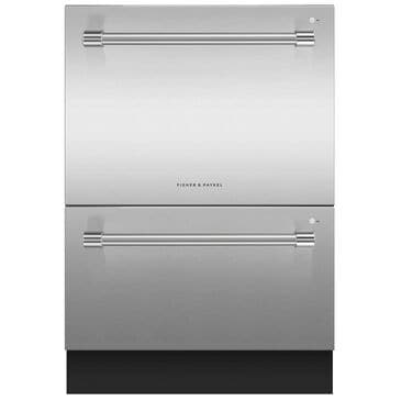 "Fisher and Paykel 24"" Professional Built-In Double Drawer Dishwasher in Stainless Steel, , large"