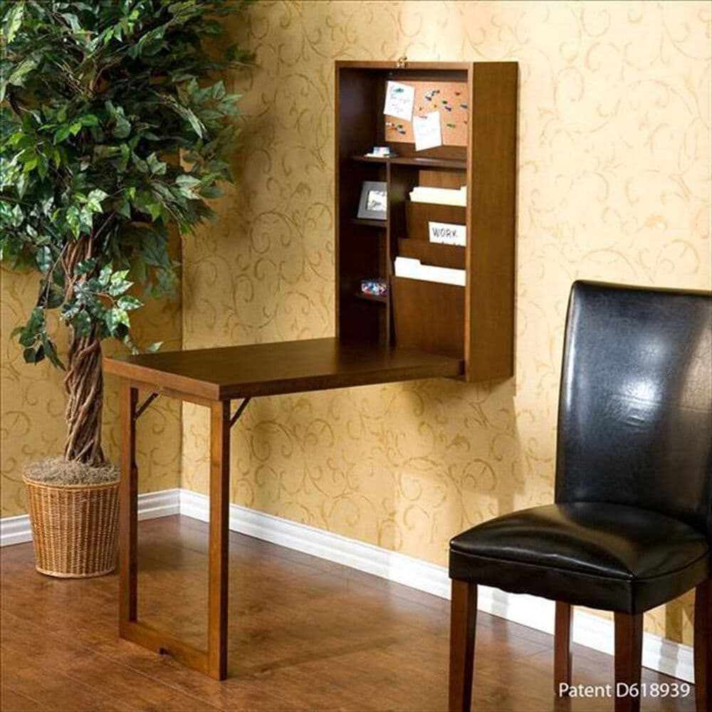 Southern Enterprises Fold-Out Convertible Desk, , large