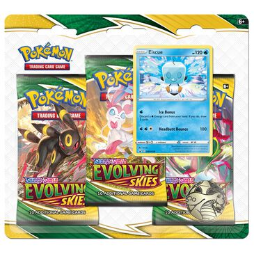 Pokemon Sword and Shield - Evolving Skies 3-Booster Blister, , large