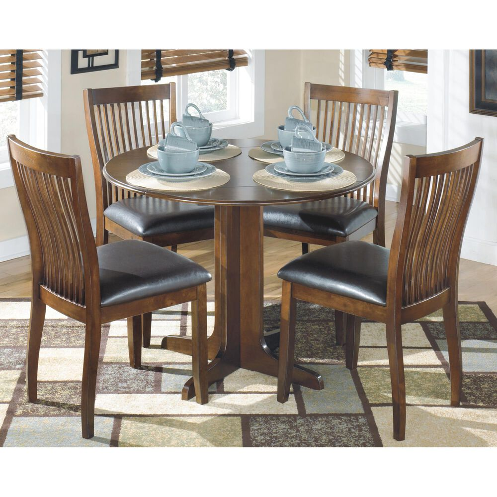 Signature Design by Ashley Stuman Dining Side Chair in Medium Brown, , large