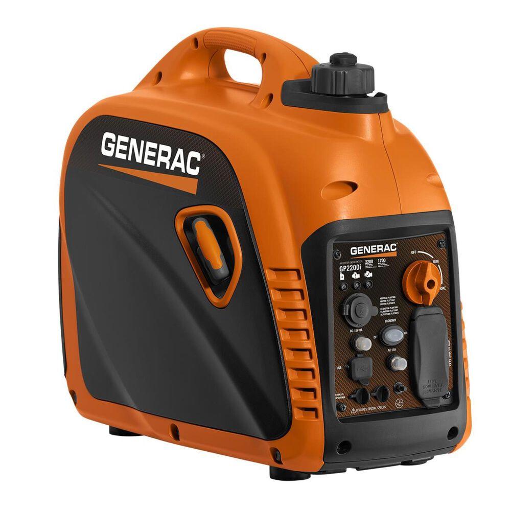 Generac IQ2200 Portable Inverter Generator + 1 1/4 Gallon No Spill Gas Can, , large