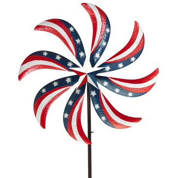 """The Gerson Company 63"""" Americana Wind Spinner, , large"""