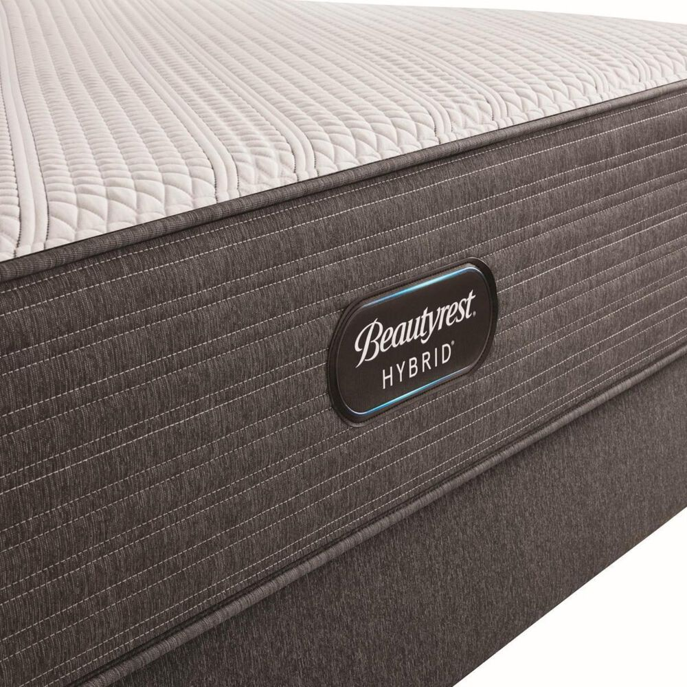 Beautyrest Hybrid 1000-C Plush Twin Mattress with High Profile Box Spring, , large