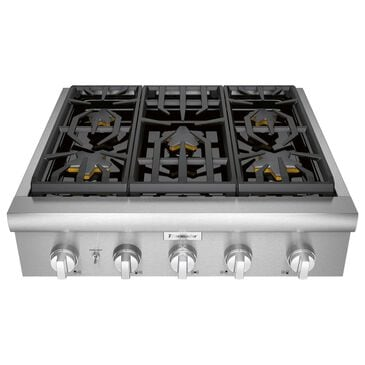 "Thermador 30"" Professional Gas Rangetop in Stainless Steel, , large"