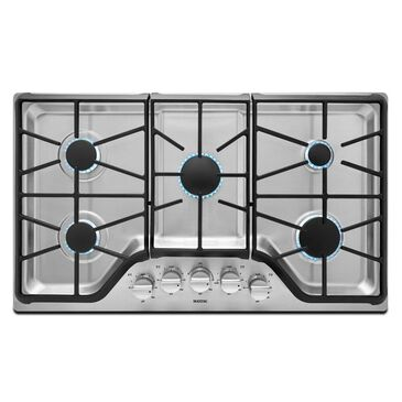 """Maytag 36"""" 5-burner Gas Cooktop with DuraGuard Protective Finish, , large"""