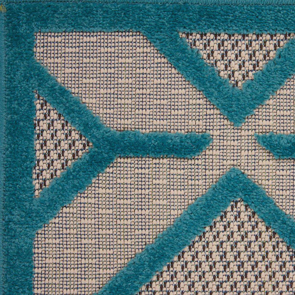 """Nourison Aloha ALH03 9'6"""" x 13' Blue Area Rug, , large"""