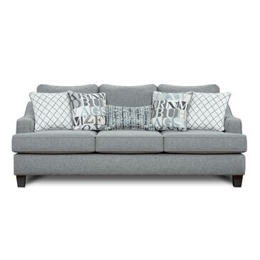 Xenia Macarena Cadet Sofa with 4 Toss and 1 Kidney Pillows, , large
