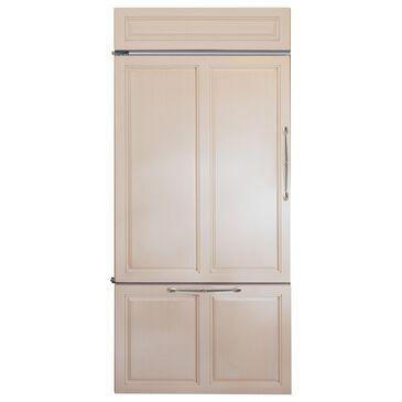 """Monogram 36"""" Bottom Freezer Refrigerator on Left Handle Panel Ready, , large"""