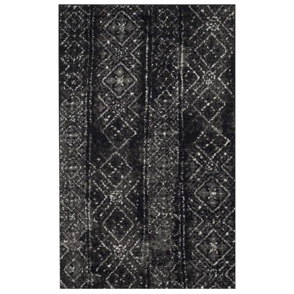 Safavieh Adirondack ADR111C 3' x 5' Black and Silver Area Rug, , large