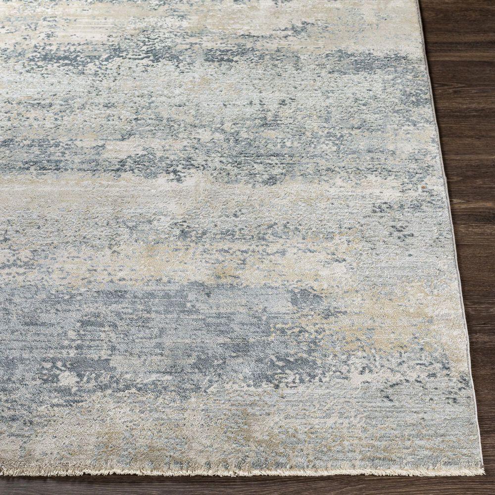 "Surya Brunswick 6'7"" x 9'6"" Sage, Gray, White and Blue Area Rug, , large"