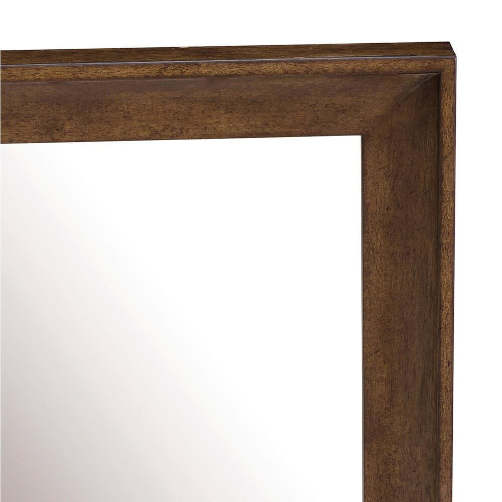 Accentric Approach Urban Eclectic Benton Dresser Mirror in Brown, , large