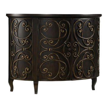 Hooker Furniture Sanctuary Avalon Demilune Chest in Black, , large